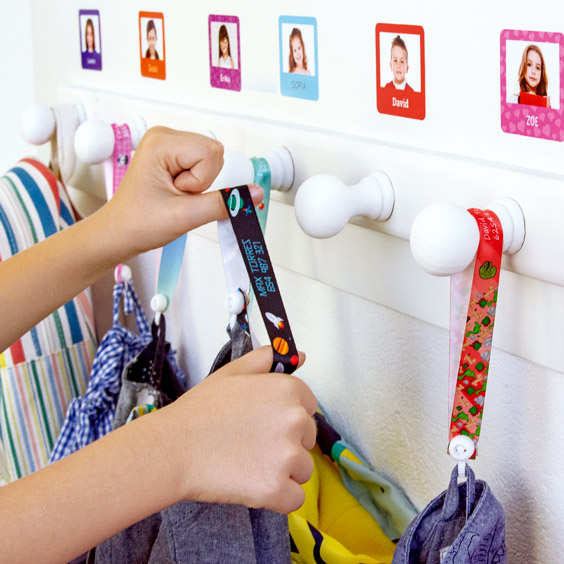 No-Sew Hanging Loops