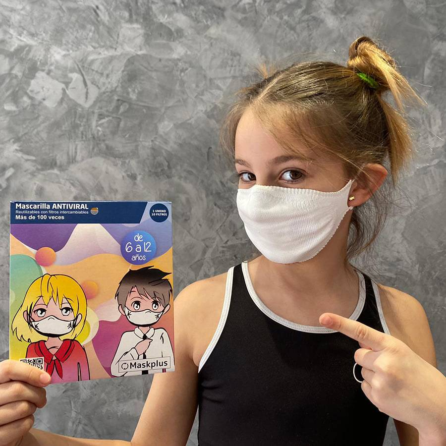 mask for children from 6 to 12 years old