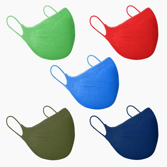 Masque de protection enfants 3/5 ans + recharge de 10 filtres papier