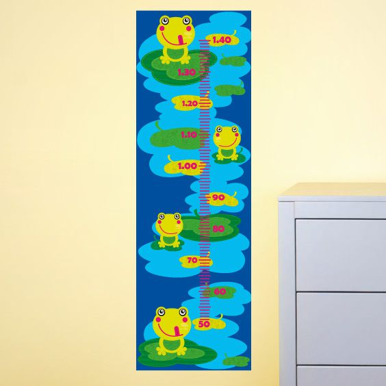 Happy Frogs Growth Chart
