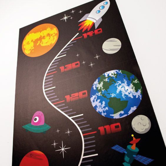Personalizable Solar System Growth Chart