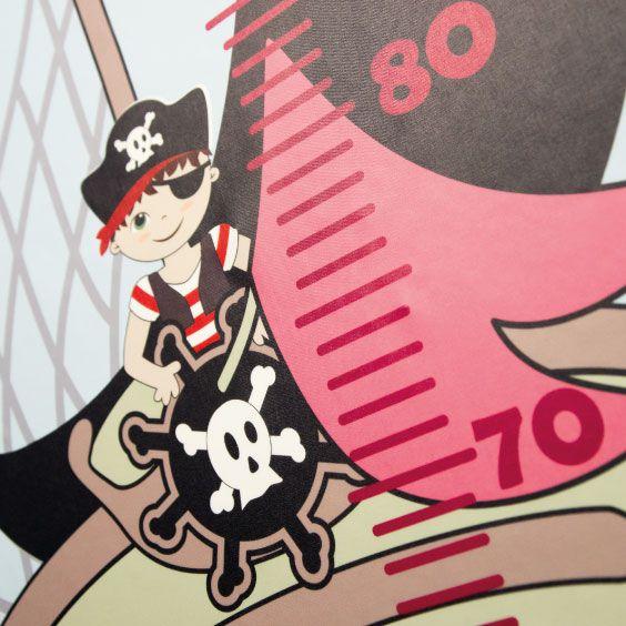 Metro personalizzabile Vascello pirata