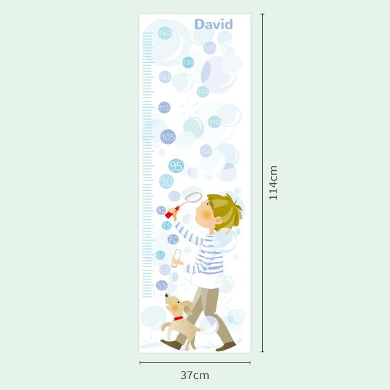 Mesurador nen i bombolles personalitzable
