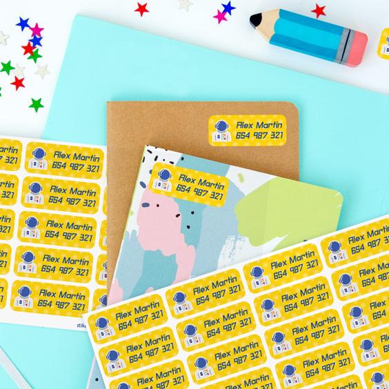 Medium Name Stickers
