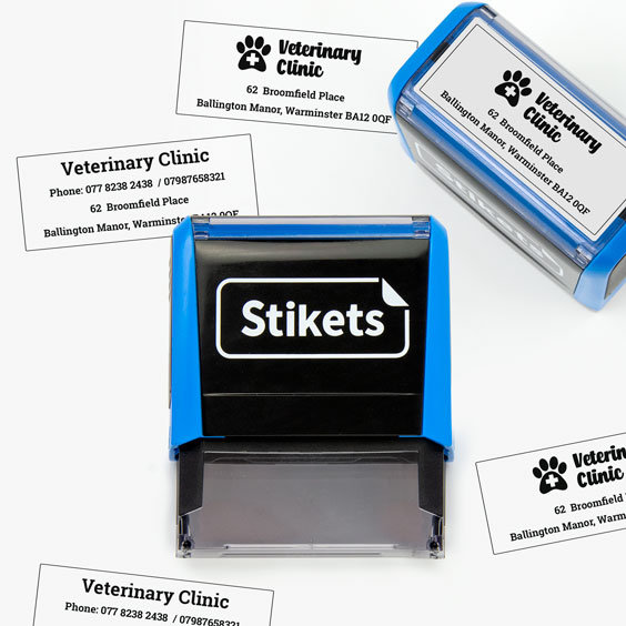 Medium-sized Self-Inking Stamps for Companies