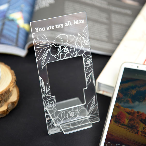 Methacrylate Personalized Mobile Stand