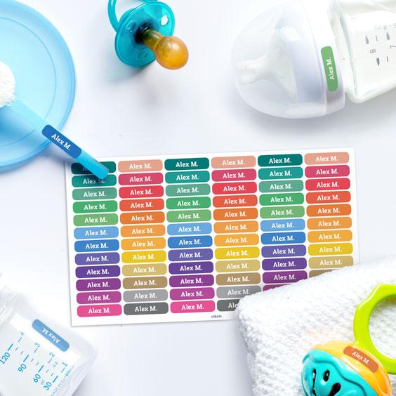Etichette adesive mini