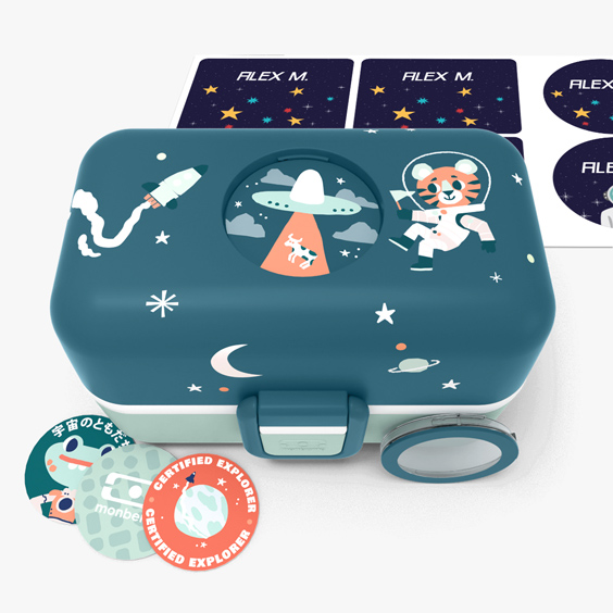 Lunch Box per bambini Cosmic Monbento