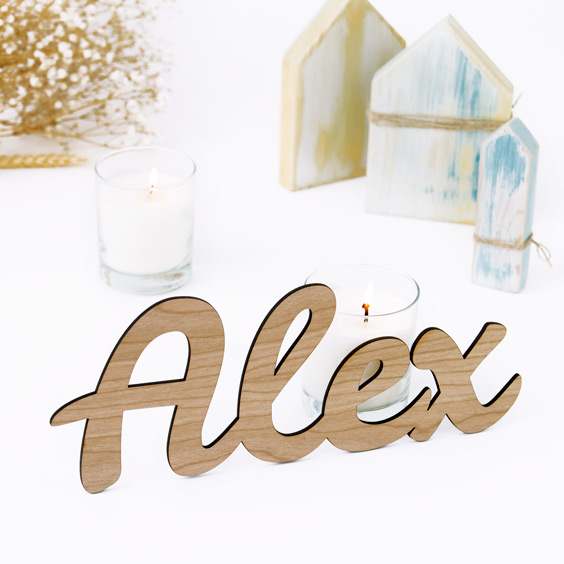 Personalized Wooden Name Signs