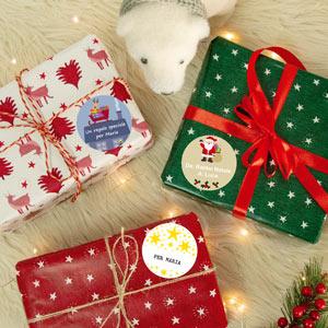Etichette regalo