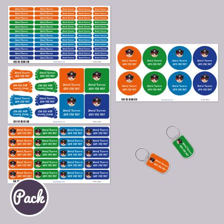 ebe5c259c0398 Packs de etiquetas personalizadas  adhesivas y para ropa Stikets ...