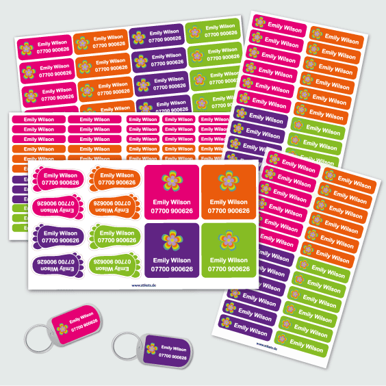Party favour Stickers
