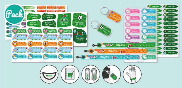ID Bracelets Thematic Pack