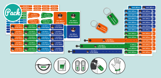 ID bracelets Pack