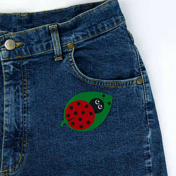Ladybug Iron-On Patch