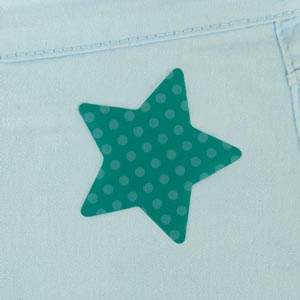 Star Iron-On Patch