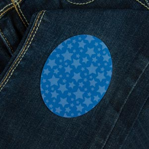 Stars Iron-On Patch