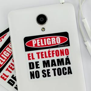 Danger Phone Sticker