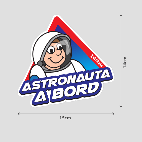 Astronauta a bord B