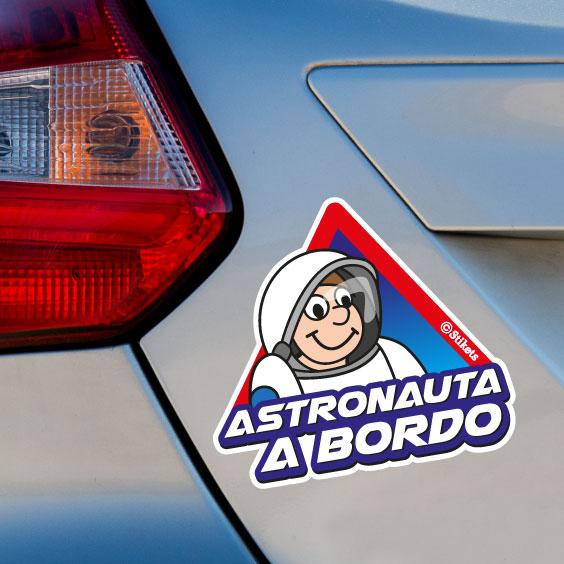 Astronauta a bordo A