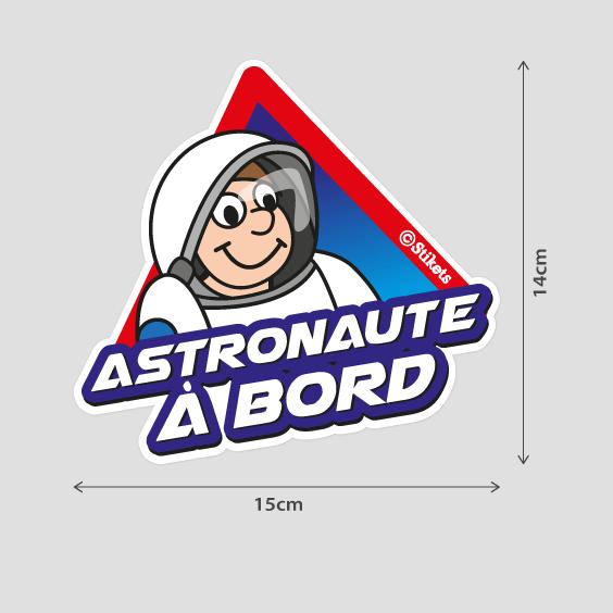 Astronaute à bord B