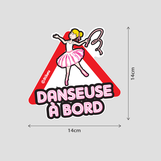 Danseuse à bord b