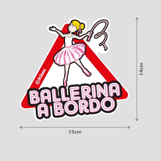 Ballerina a bordo b
