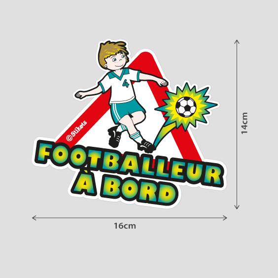 Footballeur à bord B