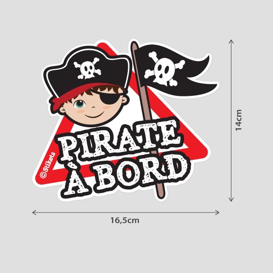 Pirate Garçon à bord b