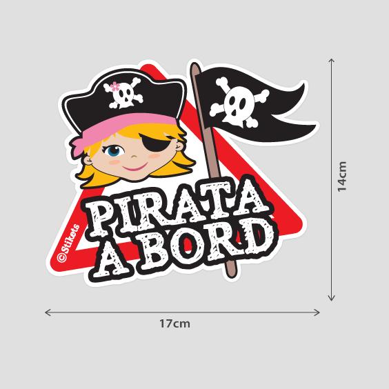 Nena pirata a bord B