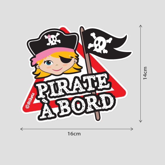 Pirate Fille à bord