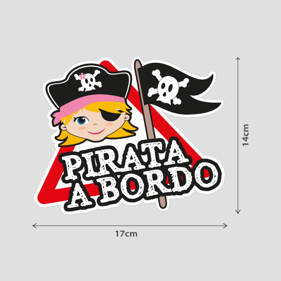 Niña pirata a bordo B