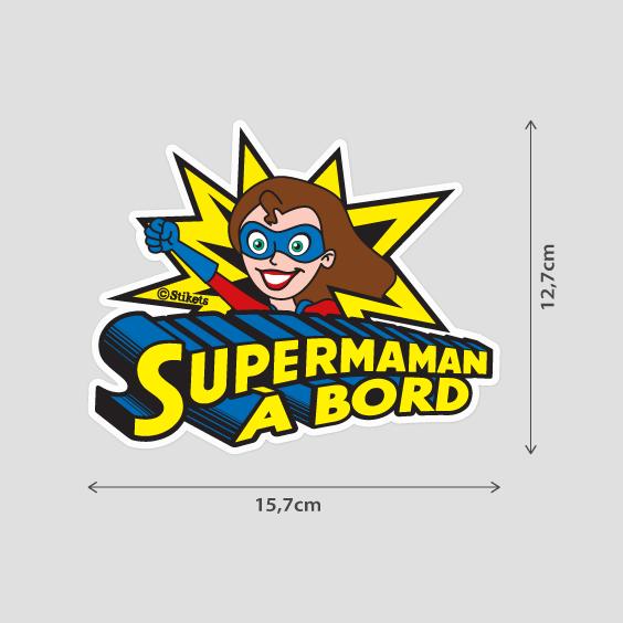 Super Maman à bord b