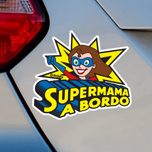 Super Mom on Board