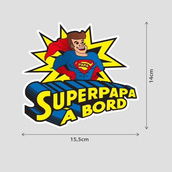 Super Papa à bord b