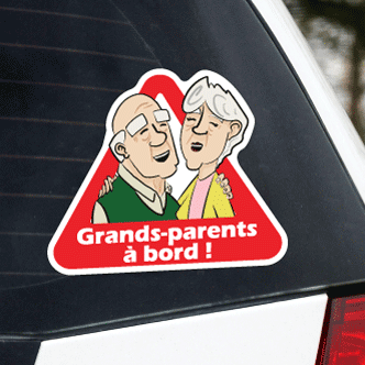 Grands-parents à bord