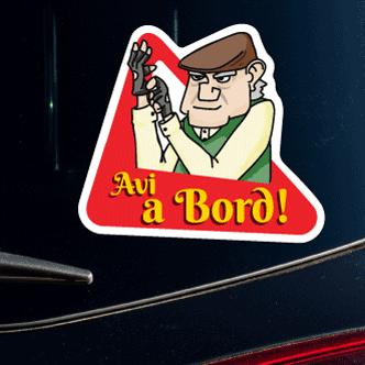 Adhesiu Avi a Bord conductor