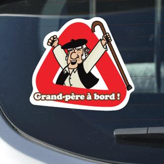 Grand-père à bord - B