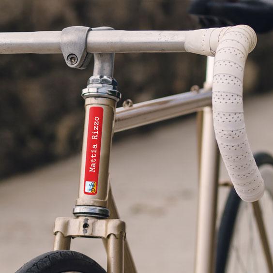Adesivi per biciclette per adulti
