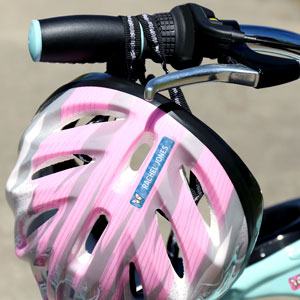 Helmet and accessories stickers for kids