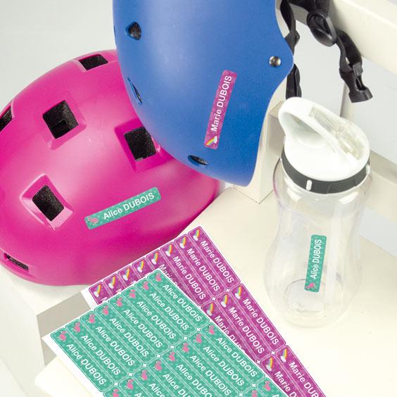 Stickers casque et accessoires de sport enfant