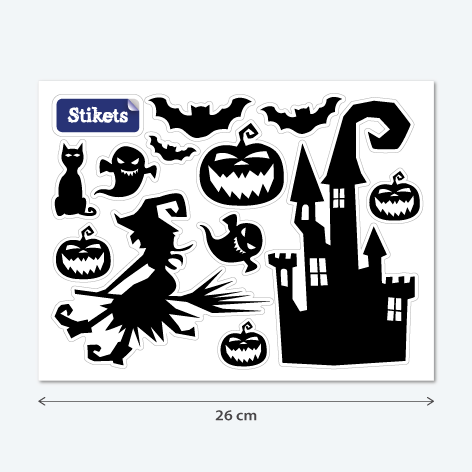Haunted Castel Decal