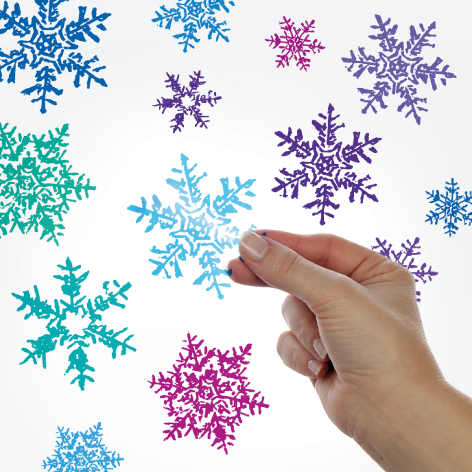 Snowflakes Decals