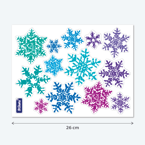 Stickers Flocons de neige