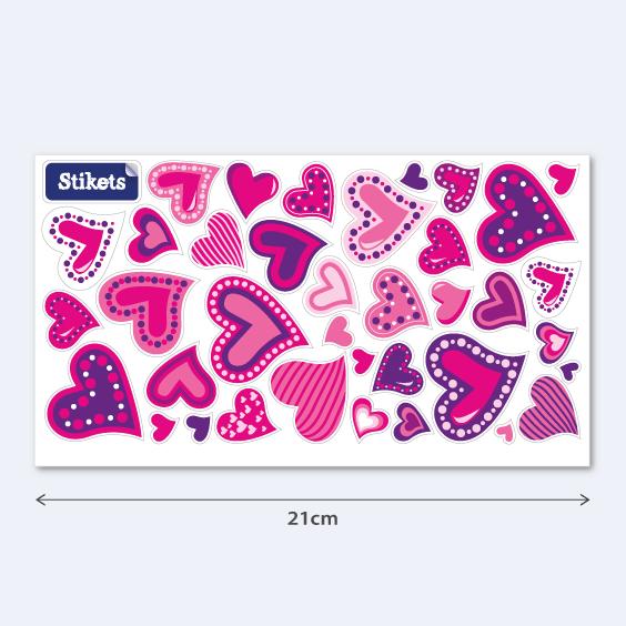 Coeurs de la Saint Valentin