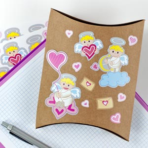 Cupids Stickers
