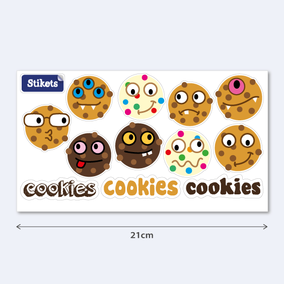 Stickers biscuits