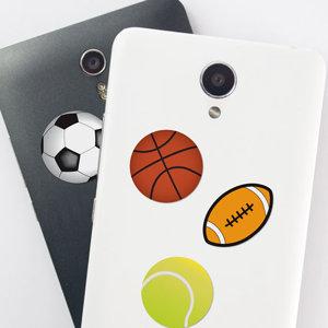Adesivi Palloni Sport  per cellulare