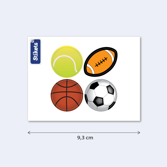 Ball phone Stickers