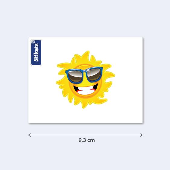 Autocolante para telemóvel Sol